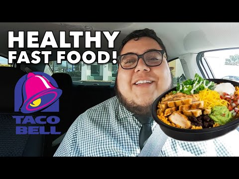 Eating Healthy at Taco Bell! #FoodReview