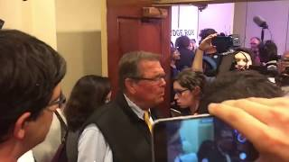 connectYoutube - Roy Moore supporters argue with media after press conference