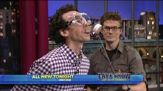 Mark & Jonathan on the Late Show with David Letterman