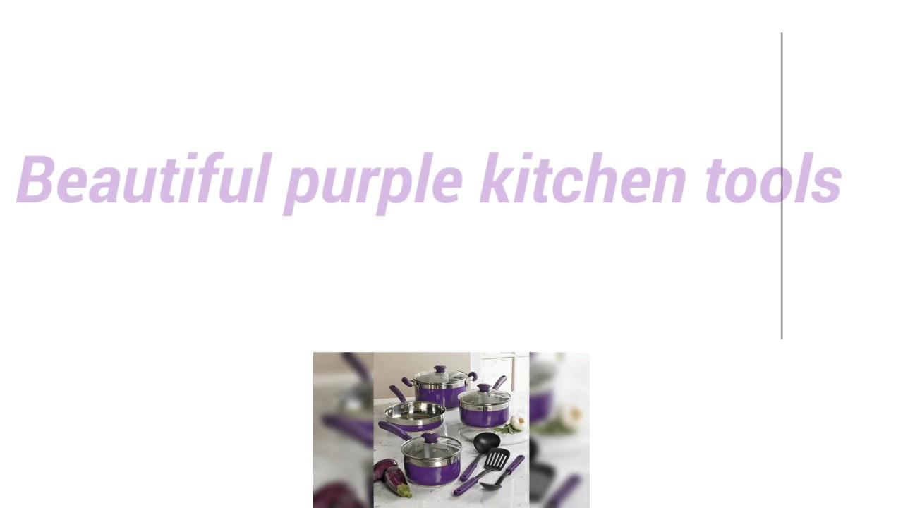 Beautiful Purple Kitchen Tools.