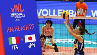 ITALY vs. JAPAN -  Highlights Women | Week 3 | Volleyball Nations League 2019