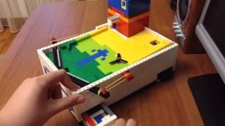 (Ура 2000 подписчиков)+ пинбол из Lego V8