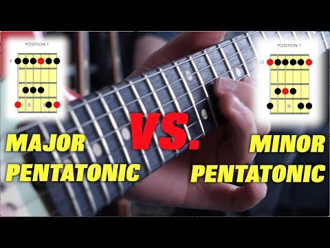 The Difference Between Major and Minor Pentatonic Scales