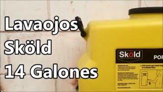 Lavaojos de Gravedad 14 Galones Skold Safety