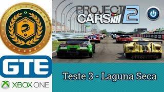 Teste 3 - 2º Campeonato VRC 2018 - Categoria GTE