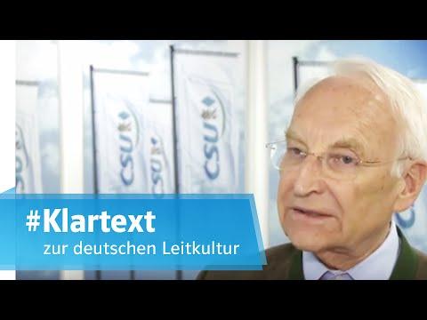 Edmund Stoiber spricht #Klartext zur deutschen Leitkultur
