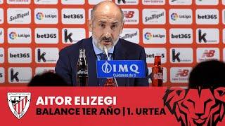 🎙️ Aitor Elizegi | Balance del primer año como presidente del Athletic Club | Lehen urteko balantzea