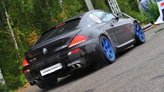 900 HP BMW M6 E63 vs. 700 HP Nissan GT-R R35. Unlim 500+
