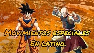 Goku & Ten movimientos especiales mod latino