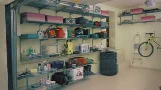 Гардеробная система ARISTO в гараже(, 2014-07-04T15:44:53.000Z)