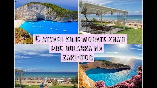 5 Stvari koje morate znati pre odlaska na Zakintos  ❤ Katarina Vitic