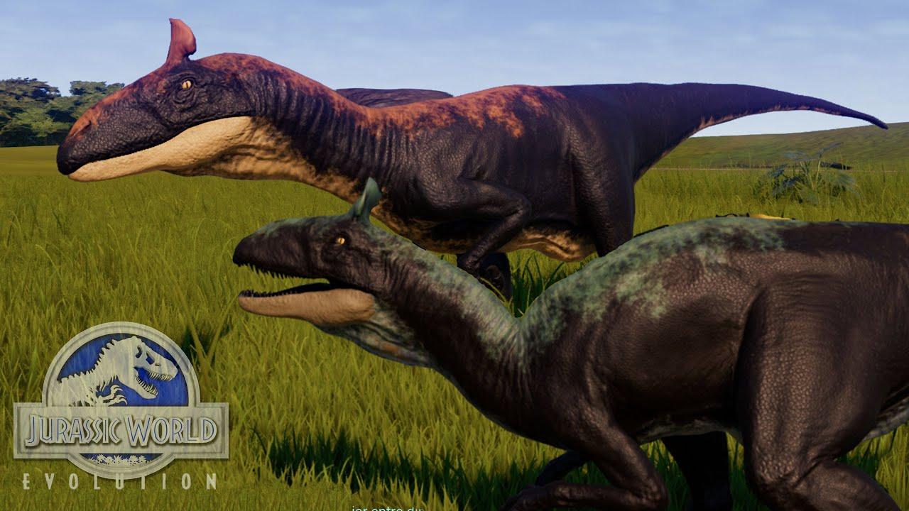 CRYOLOPHOSAURUS EL DINOSAURIO DE LA ANTARTIDA Y LA HUIDA DEL ULTIMASAURUS! Jurassic World Evolution