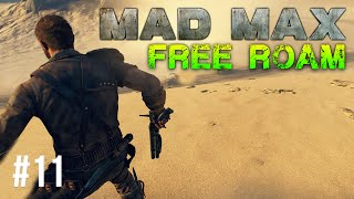 Mad Max Free Roam Gameplay #11 - Convoy Madness (Mad Max Single Player Free Roam)