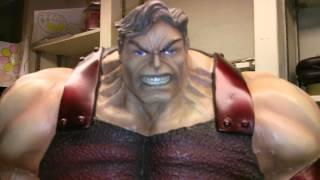 Custom 1/4 Scale X Men The Juggernaut Statue Not SideShow Or Bowen