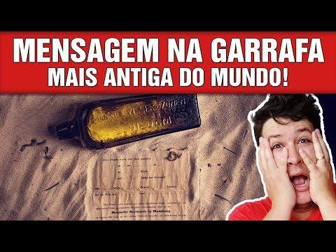 Garrafa com Mensagem Jogada em 1886 é Encontrada + Garrafa Encontrada no Brasil! (#755 - N. A.)