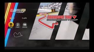 NASCAR Heat 3 Camping World Truck Series at Canadian Tire Motorsport Park with Harrison Burton