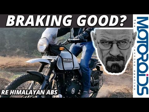 Royal Enfield Himalayan ABS Review | Have the Brakes Improved? | Motoroids