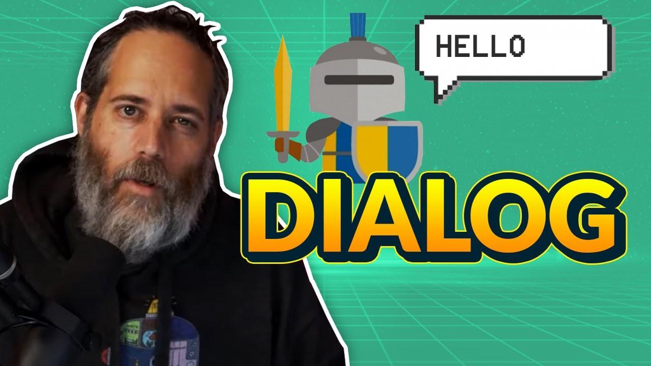 Let's Build an NPC Dialog Game Live - Unity3D