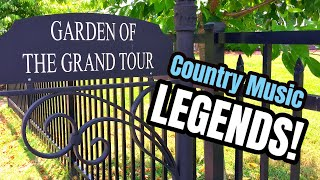 Famous Graves - GEORGE JONES, MARTY ROBBINS & Other Country Music Legends In Nashville, TN (PART 2)