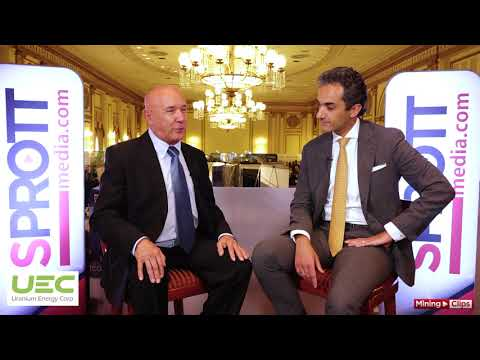 CEO Interview Series - Mickey Fulp with Amir Adnani of UEC at Sprott Symposium in Vancouver