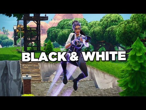 Fortnite Montage - Black & White (Juice WRLD)