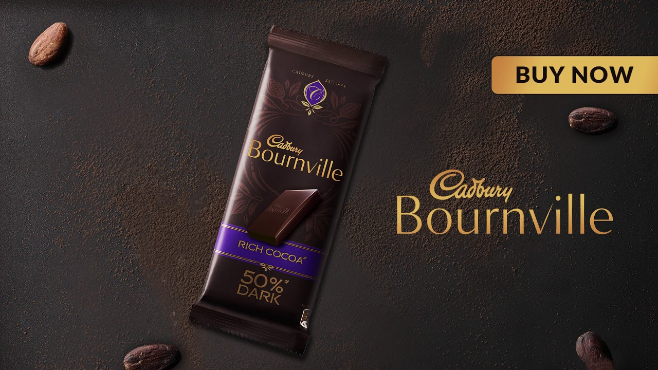 Cadbury Bournville - Crafted for those with a fine palate