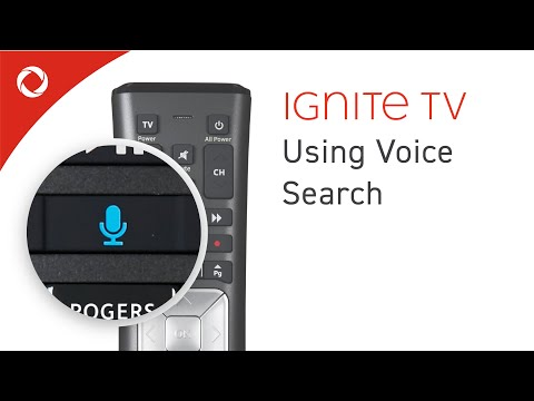 Using Voice Commands with your Ignite TV Voice Remote