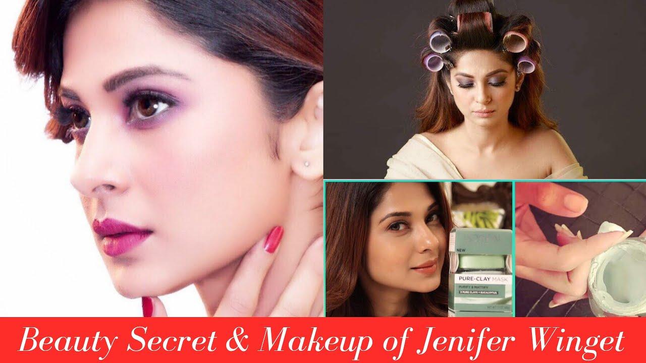 Jennifer Winget  Beauty Secret and Makeup  TV Actress  Bollywood Actress   Tutorial  Without