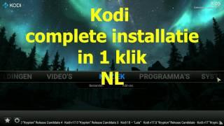 KODI - Complete setup + Addons installatie (Nederlands)