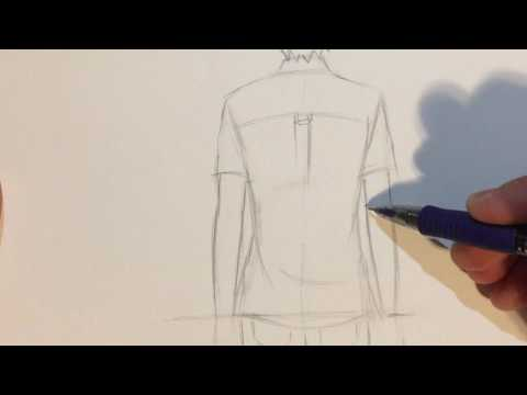 how-to-draw-anime-boy-back-view-[no-timelapse]