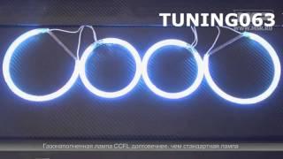 BMW E46 '01- (с линзой) вставки ангельские глазки в штатные фары(, 2014-11-17T11:06:52.000Z)