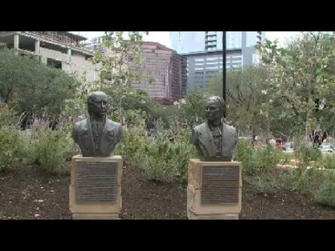 Republic Square Park supporters honored ahead of 2018 grand opening
