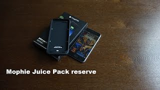 Mophie iPhone 6S Juice Pack Reserve Review