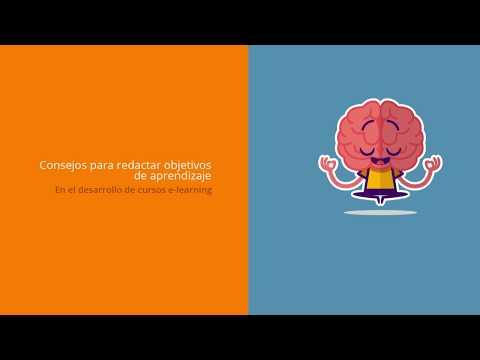 Redaccion de objetivos de aprendizaje (tutorial)