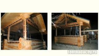 Защитные шторы для беседок и веранд в Москве - купить тент ПВХ(, 2015-05-09T18:52:03.000Z)