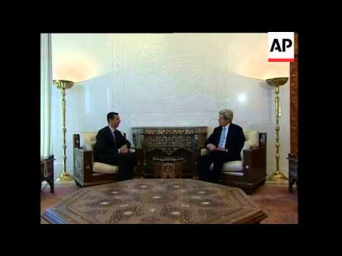 US Sen Kerry, other Congress members visit Syria
