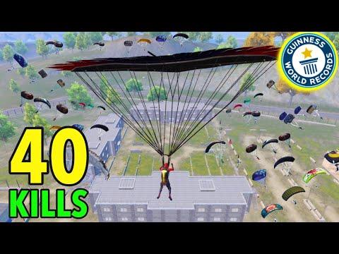 40KILLS!!😱NEW WORLD RECORD | SOLO VS SQUAD | Pubg Mobile