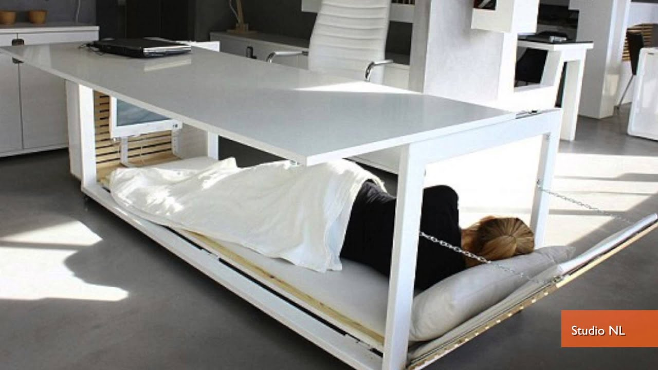 Convertible Napping Desk Helps You Sleep On The Job