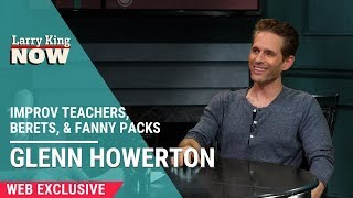 Glenn Howerton and Pete Holmes Discuss Improv Teachers, Berets, & Fanny Packs