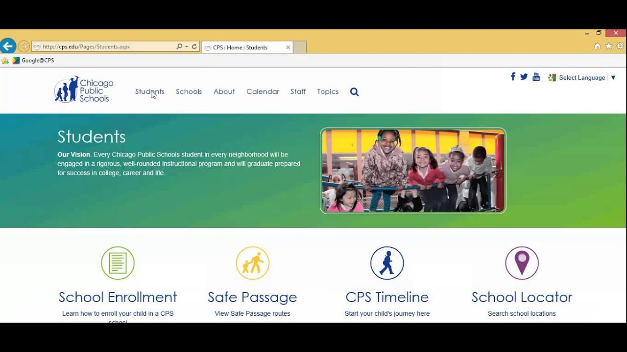 Cps Parent Portal Overview Youtube