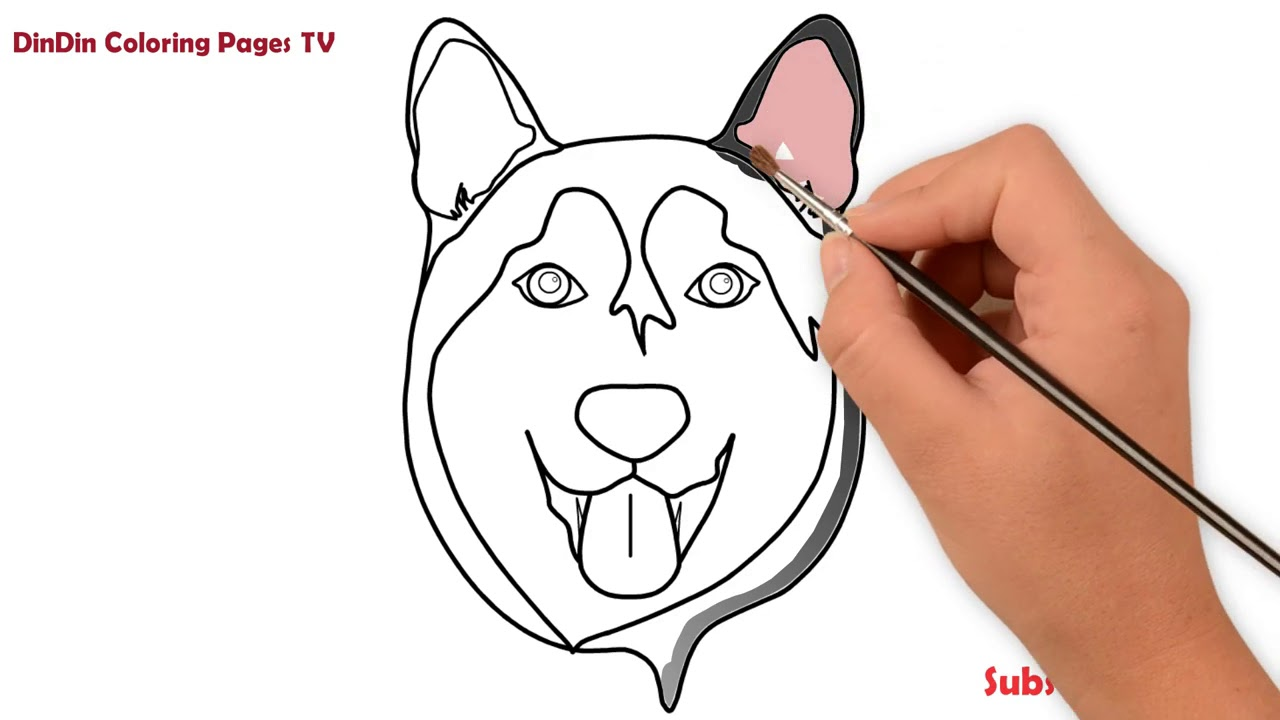 37 Hundekopf Zeichnen Einfach - Besten Bilder von ausmalbilder