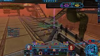 SWTOR PVP level 70 Lightning Sorcerer (Dragonborn Sorc)