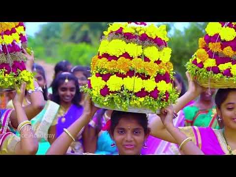 BATHUKAMMA SONG 2018/VIJAYA DANCE ACADEMY//BHUPALPALLY//JAYASHENKAR