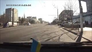 Неадекватное поведение на дорогах Днепра.