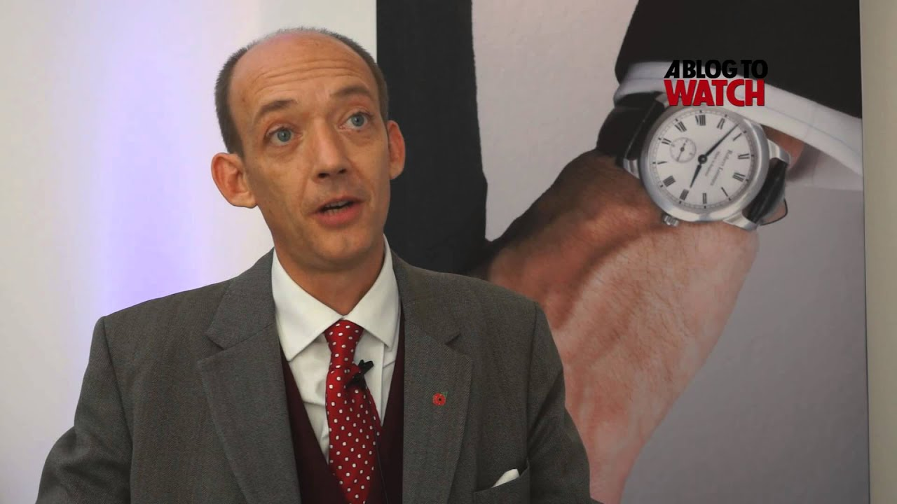 Robert loomes presents his made in england watch youtube for Robert loomes watch