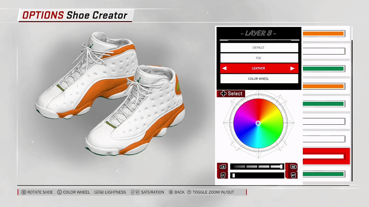 NBA 2K18 Shoe Creator - Air Jordan 13 Custom