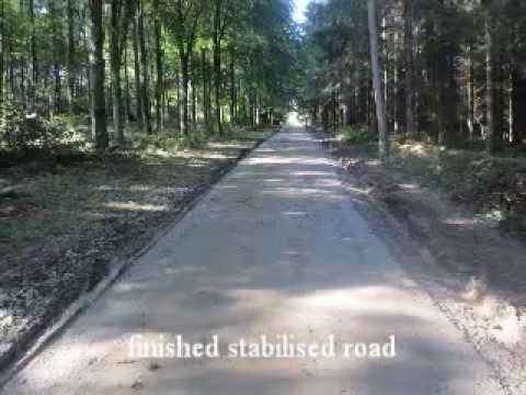 MP & KM Golding Road Reclamation Services road stabilisation