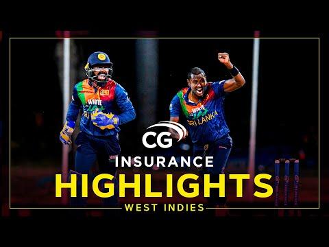 Highlights | West Indies v Sri Lanka | Hasaranga Stars Despite McCoy Flourish |2nd CG Insurance T20I