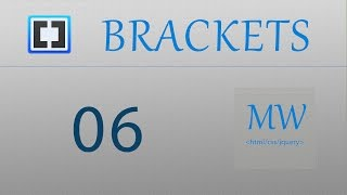 Brackets 06 - Previsualización rápida y Ayuda css
