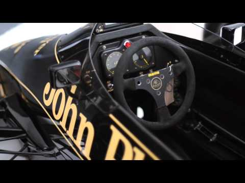 Lotus F1 cars in the studio -- Octane magazine